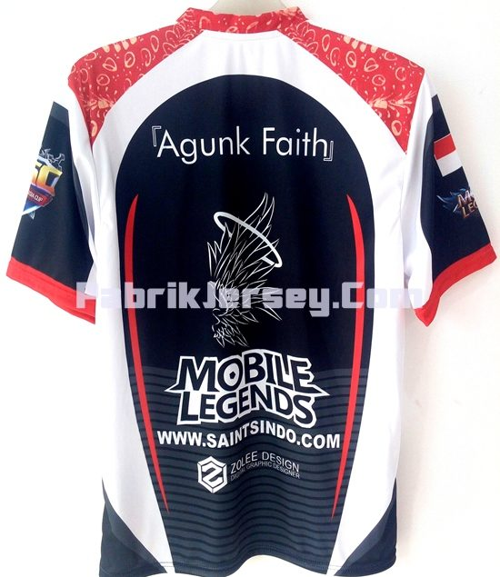 Kaos Gamers Keren Mobile Legends - Saint Indo